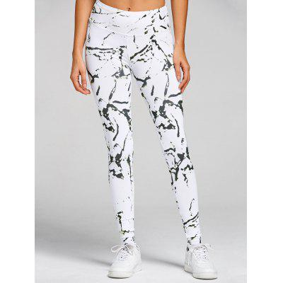 High Waist Printed Skinny Gym LeggingsPants<br>High Waist Printed Skinny Gym Leggings<br><br>Closure Type: Elastic Waist<br>Fit Type: Skinny<br>Length: Normal<br>Material: Polyester, Spandex<br>Package Contents: 1 x Leggings<br>Pant Style: Pencil Pants<br>Pattern Type: Print<br>Style: Fashion<br>Waist Type: High<br>Weight: 0.3700kg