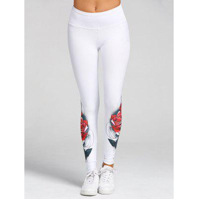 High Waist 3D Rose Print Skinny LeggingsPants<br>High Waist 3D Rose Print Skinny Leggings<br><br>Closure Type: Elastic Waist<br>Embellishment: 3D Print<br>Fit Type: Skinny<br>Length: Normal<br>Material: Polyester, Spandex<br>Package Contents: 1 x Leggings<br>Pant Style: Pencil Pants<br>Pattern Type: Floral<br>Style: Fashion<br>Waist Type: High<br>Weight: 0.3700kg
