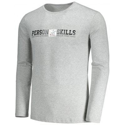 Mens Graphic Person Skills T-shirtMens Long Sleeves Tees<br>Mens Graphic Person Skills T-shirt<br><br>Collar: Round Neck<br>Material: Polyester<br>Package Contents: 1 x T-shirt<br>Pattern Type: Letter<br>Season: Fall<br>Sleeve Length: Full<br>Style: Casual<br>Weight: 0.3300kg