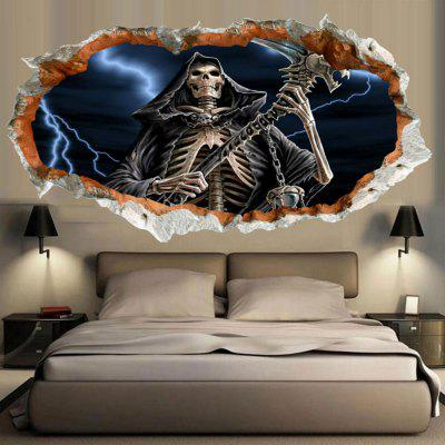 3D Death Deathproof Wall Sticker