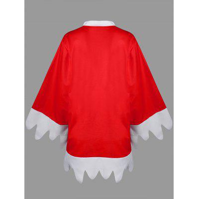 Christmas Plus Size Bow Tie TopPlus Size Tops<br>Christmas Plus Size Bow Tie Top<br><br>Collar: Bow Tie Collar<br>Embellishment: Bowknot<br>Material: Polyester, Spandex<br>Package Contents: 1 x Top<br>Pattern Type: Others<br>Season: Spring, Fall<br>Shirt Length: Long<br>Sleeve Length: Full<br>Style: Novelty<br>Weight: 0.4100kg