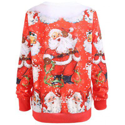 Santa Claus Merry Christmas SweatshirtSweatshirts &amp; Hoodies<br>Santa Claus Merry Christmas Sweatshirt<br><br>Material: Polyester, Spandex<br>Package Contents: 1 x Sweatshirt<br>Pattern Style: Others<br>Season: Fall, Spring<br>Shirt Length: Regular<br>Sleeve Length: Full<br>Style: Novelty<br>Weight: 0.4200kg