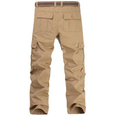 Zip Fly Casual Cargo Pants with Flap PocketsMens Pants<br>Zip Fly Casual Cargo Pants with Flap Pockets<br><br>Closure Type: Zipper Fly<br>Fit Type: Regular<br>Front Style: Pleated<br>Material: Cotton, Polyester<br>Package Contents: 1 x Pants<br>Pant Length: Long Pants<br>Pant Style: Cargo Pants<br>Style: Casual<br>Waist Type: Mid<br>Weight: 0.7800kg<br>With Belt: No