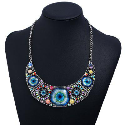 Cat Eye Design Hollow Beaded NecklaceNecklaces &amp; Pendants<br>Cat Eye Design Hollow Beaded Necklace<br><br>Gender: For Women<br>Length: 50cm<br>Metal Type: Alloy<br>Package Contents: 1 x Necklace<br>Shape/Pattern: Floral,Others<br>Style: Classic<br>Weight: 0.0670kg