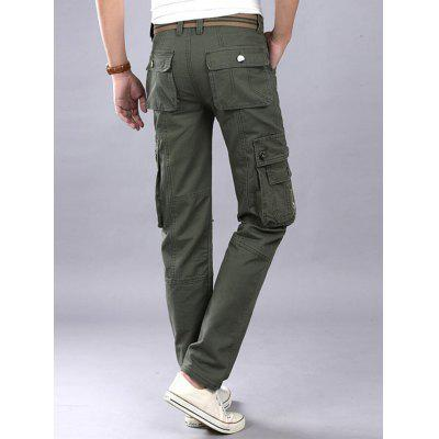 Zip Fly Flap Pockets Casual Cargo PantsMens Pants<br>Zip Fly Flap Pockets Casual Cargo Pants<br><br>Closure Type: Zipper Fly<br>Fit Type: Regular<br>Front Style: Pleated<br>Material: Cotton, Polyester<br>Package Contents: 1 x Pants<br>Pant Length: Long Pants<br>Pant Style: Cargo Pants<br>Style: Casual<br>Waist Type: Mid<br>Weight: 0.6300kg<br>With Belt: No
