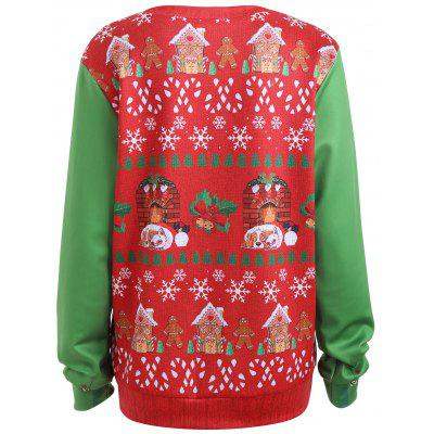 Plus Size Light Up Christmas Ugly SweatshirtPlus Size Tops<br>Plus Size Light Up Christmas Ugly Sweatshirt<br><br>Material: Cotton Blend, Polyester<br>Package Contents: 1 x Sweatshirt<br>Pattern Style: Print<br>Season: Fall, Winter<br>Shirt Length: Regular<br>Sleeve Length: Full<br>Style: Fashion<br>Weight: 0.3600kg