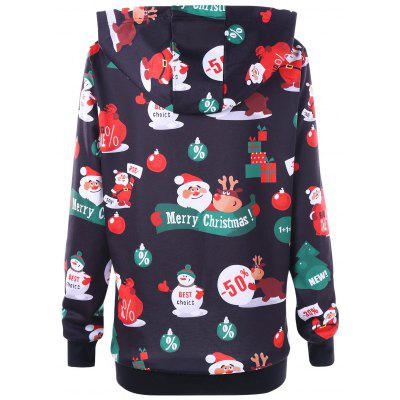 Christmas Plus Size Santa Claus HoodiePlus Size Tops<br>Christmas Plus Size Santa Claus Hoodie<br><br>Material: Polyester, Spandex<br>Package Contents: 1 x Hoodie<br>Pattern Style: Animal<br>Season: Fall, Spring<br>Shirt Length: Long<br>Sleeve Length: Full<br>Style: Casual<br>Weight: 0.4700kg