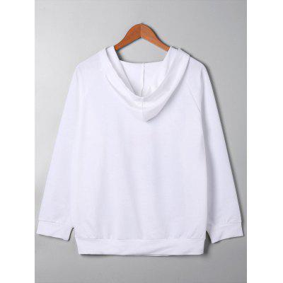 Plus Size Graphic Raglan Sleeve HoodiePlus Size Tops<br>Plus Size Graphic Raglan Sleeve Hoodie<br><br>Material: Polyester, Spandex<br>Package Contents: 1 x Hoodie<br>Pattern Style: Others<br>Season: Fall, Spring<br>Shirt Length: Long<br>Sleeve Length: Full<br>Style: Casual<br>Weight: 0.4000kg