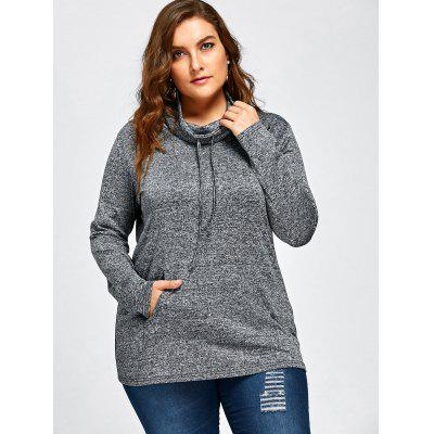 Plus Size Long Sleeve Drawstring Cowl Neck TopPlus Size Tops<br>Plus Size Long Sleeve Drawstring Cowl Neck Top<br><br>Collar: Cowl Neck<br>Material: Polyester, Spandex<br>Package Contents: 1 x Top<br>Pattern Type: Others<br>Season: Fall, Spring<br>Shirt Length: Regular<br>Sleeve Length: Full<br>Style: Fashion<br>Weight: 0.3090kg