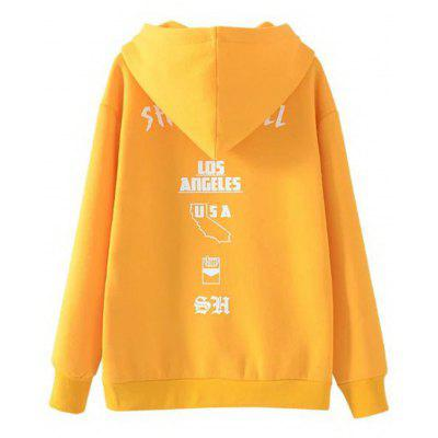 Letter Pocket Drawstring Loose HoodieSweatshirts &amp; Hoodies<br>Letter Pocket Drawstring Loose Hoodie<br><br>Clothing Style: Hoodie<br>Material: Cotton, Polyester<br>Package Contents: 1 x Hoodie<br>Pattern Style: Letter<br>Shirt Length: Regular<br>Sleeve Length: Full<br>Weight: 0.5550kg