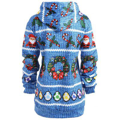 Plus Size Christmas Santa Claus Bowknot Print HoodiePlus Size Tops<br>Plus Size Christmas Santa Claus Bowknot Print Hoodie<br><br>Material: Cotton, Polyester<br>Package Contents: 1 x Hoodie<br>Pattern Style: Print<br>Season: Fall, Spring<br>Shirt Length: Regular<br>Sleeve Length: Full<br>Style: Fashion<br>Weight: 0.5050kg