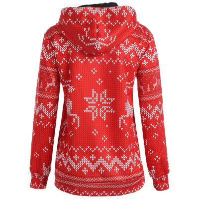Christmas Snowflake Elk Kangaroo Pocket HoodieSweatshirts &amp; Hoodies<br>Christmas Snowflake Elk Kangaroo Pocket Hoodie<br><br>Material: Polyester, Spandex<br>Package Contents: 1 x Hoodie<br>Pattern Style: Others<br>Season: Fall, Spring<br>Shirt Length: Regular<br>Sleeve Length: Full<br>Style: Novelty<br>Weight: 0.4200kg