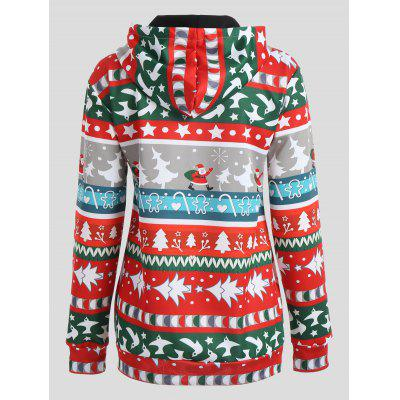 Christmas Tree Snowflake Santa Claus HoodieSweatshirts &amp; Hoodies<br>Christmas Tree Snowflake Santa Claus Hoodie<br><br>Material: Polyester, Spandex<br>Package Contents: 1 x Hoodie<br>Pattern Style: Others<br>Season: Fall, Spring<br>Shirt Length: Regular<br>Sleeve Length: Full<br>Style: Novelty<br>Weight: 0.4200kg