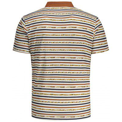 Mens Striped Short Sleeve Polo TeeMens Short Sleeve Tees<br>Mens Striped Short Sleeve Polo Tee<br><br>Collar: Turn-down Collar<br>Material: Polyester<br>Package Contents: 1 x T-shirt<br>Pattern Type: Striped<br>Sleeve Length: Short<br>Style: Casual<br>Weight: 0.2800kg