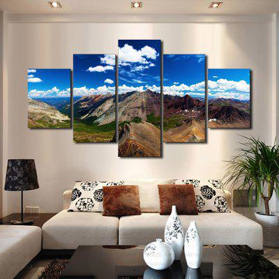 Mountains Printed Unframed Canvas Paintings