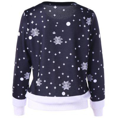 Ugly Christmas Elk Snowflake SweatshirtSweatshirts &amp; Hoodies<br>Ugly Christmas Elk Snowflake Sweatshirt<br><br>Material: Polyester<br>Package Contents: 1 x Sweatshirt<br>Pattern Style: Others<br>Season: Fall, Spring<br>Shirt Length: Regular<br>Sleeve Length: Full<br>Style: Novelty<br>Weight: 0.3950kg