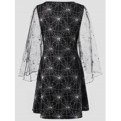 Halloween Plus Size Spider Web Sheer DressPlus Size Dresses<br>Halloween Plus Size Spider Web Sheer Dress<br><br>Dresses Length: Knee-Length<br>Material: Polyester<br>Neckline: Round Collar<br>Package Contents: 1 x Dress<br>Pattern Type: Others<br>Season: Fall, Spring<br>Silhouette: A-Line<br>Sleeve Length: Long Sleeves<br>Style: Novelty<br>Weight: 0.3500kg<br>With Belt: No