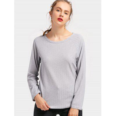 Draped Backless Long Sleeve TeeTees<br>Draped Backless Long Sleeve Tee<br><br>Collar: Round Neck<br>Embellishment: Backless<br>Material: Polyester<br>Package Contents: 1 x Tee<br>Pattern Type: Solid Color<br>Sleeve Length: Full<br>Style: Casual<br>Weight: 0.2600kg