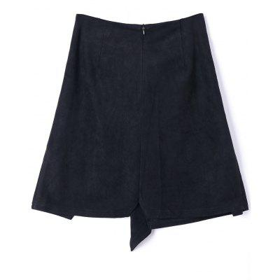 Tie Front Slit A-line Mini SkirtSkirts<br>Tie Front Slit A-line Mini Skirt<br><br>Length: Mini<br>Material: Polyester, Spandex<br>Package Contents: 1 x Skirt<br>Pattern Type: Solid<br>Season: Fall, Summer<br>Silhouette: A-Line<br>Weight: 0.2000kg