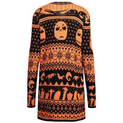 Halloween Skull Plus Size Drape Sweater CardiganPlus Size<br>Halloween Skull Plus Size Drape Sweater Cardigan<br><br>Collar: Collarless<br>Material: Polyester, Spandex<br>Package Contents: 1 x Cardigan<br>Pattern Type: Others<br>Season: Fall, Winter<br>Sleeve Length: Full<br>Style: Fashion<br>Type: Cardigans<br>Weight: 0.4700kg