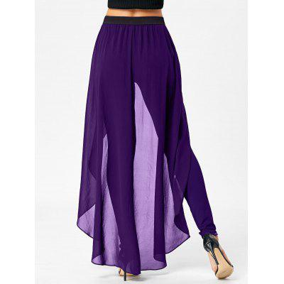 High Waist Slimming Pants with SkirtPants<br>High Waist Slimming Pants with Skirt<br><br>Closure Type: Elastic Waist<br>Fit Type: Regular<br>Front Style: Flat<br>Length: Normal<br>Material: Cotton, Polyester<br>Package Contents: 1 x Pants 1 x Skirt<br>Pant Style: Pencil Pants<br>Pattern Type: Solid<br>Style: Fashion<br>Waist Type: High<br>Weight: 0.4000kg<br>With Belt: No