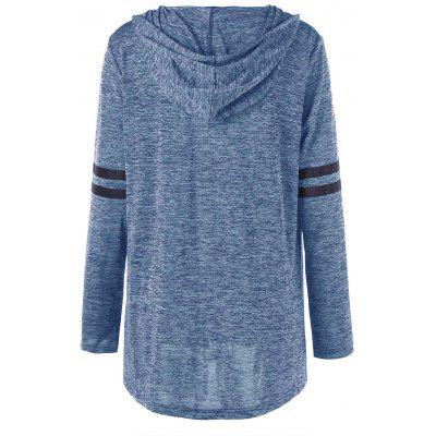 Plus Size Marled Tunic HoodiePlus Size<br>Plus Size Marled Tunic Hoodie<br><br>Material: Polyester, Spandex<br>Package Contents: 1 x Hoodie<br>Pattern Style: Others<br>Season: Fall, Spring<br>Shirt Length: Long<br>Sleeve Length: Full<br>Style: Casual<br>Weight: 0.3100kg