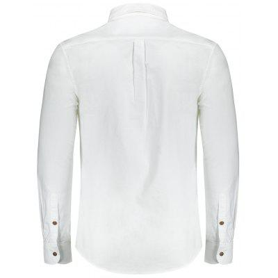 Mens Letter ShirtMens Shirts<br>Mens Letter Shirt<br><br>Collar: Turn-down Collar<br>Material: Polyester<br>Package Contents: 1 x Shirt<br>Shirts Type: Casual Shirts<br>Sleeve Length: Full<br>Weight: 0.4700kg