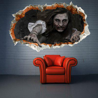 3D Waterproof Halloween Zombie Wall Sticker