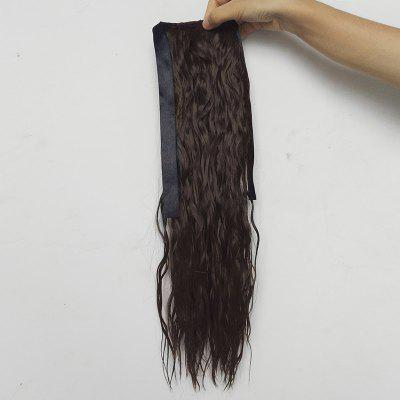 Medium Water Wave Ponytail Synthetic Hair Extension
