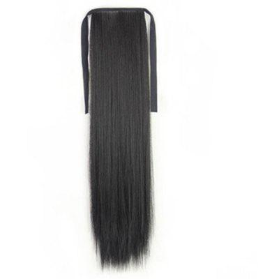 Medium Straight Ponytail Synthetic Hair Extension