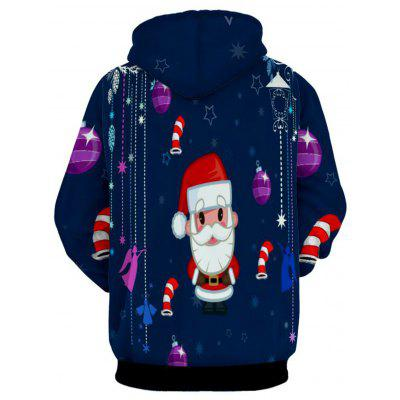 Father Christmas Print Kangaroo Pocket HoodieMens Hoodies &amp; Sweatshirts<br>Father Christmas Print Kangaroo Pocket Hoodie<br><br>Clothes Type: Hoodie<br>Material: Polyester<br>Occasion: Casual<br>Package Contents: 1 x Hoodie<br>Patterns: Cartoon<br>Shirt Length: Regular<br>Sleeve Length: Full<br>Style: Casual<br>Thickness: Regular<br>Weight: 0.5900kg