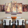 Forest Tree Scenery Canvas Prints Wall Art Painting - COLORFUL