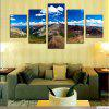 Mountains Printed Unframed Canvas Paintings - COLORMIX