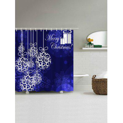 Christmas Ball Printed Waterproof Shower CurtainShower Curtain<br>Christmas Ball Printed Waterproof Shower Curtain<br><br>Materials: Polyester<br>Number of Hook Holes: W59 inch*L71 inch: 10; W71 inch*L71 inch: 12; W71 inch*L79 inch: 12<br>Package Contents: 1 x Shower Curtain 1 x Hooks (Set)<br>Pattern: Ball<br>Products Type: Shower Curtains<br>Style: Festival