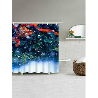 Christmas Snow Bell Waterproof Shower CurtainShower Curtain<br>Christmas Snow Bell Waterproof Shower Curtain<br><br>Materials: Polyester<br>Number of Hook Holes: W59 inch*L71 inch: 10; W71 inch*L71 inch: 12; W71 inch*L79 inch: 12<br>Package Contents: 1 x Shower Curtain 1 x Hooks (Set)<br>Pattern: Plant<br>Products Type: Shower Curtains<br>Style: Festival