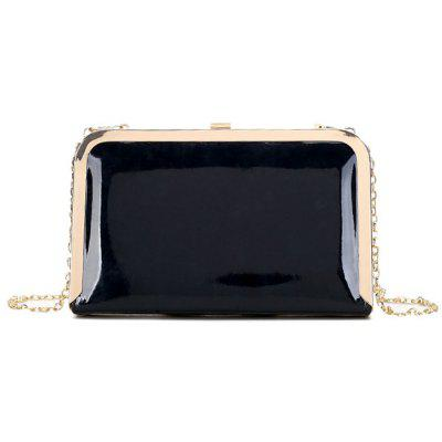 Clip-clasp Chains Strap Evening Bag