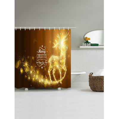Christmas Elk Print Polyester Waterproof Bath CurtainShower Curtain<br>Christmas Elk Print Polyester Waterproof Bath Curtain<br><br>Materials: Polyester<br>Number of Hook Holes: W59 inch*L71 inch: 10; W71 inch*L71 inch: 12; W71 inch*L79 inch: 12<br>Package Contents: 1 x Shower Curtain 1 x Hooks (Set)<br>Pattern: Elk<br>Products Type: Shower Curtains<br>Style: Festival