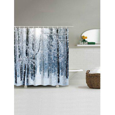 Christmas Snow Forest Print Waterproof Shower CurtainShower Curtain<br>Christmas Snow Forest Print Waterproof Shower Curtain<br><br>Materials: Polyester<br>Number of Hook Holes: W59 inch*L71 inch: 10; W71 inch*L71 inch: 12; W71 inch*L79 inch: 12<br>Package Contents: 1 x Shower Curtain 1 x Hooks (Set)<br>Pattern: Forest<br>Products Type: Shower Curtains<br>Style: Festival