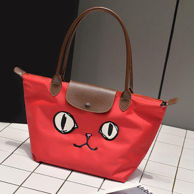 Waterproof Cartoon Embroidered Tote BagHandbags<br>Waterproof Cartoon Embroidered Tote Bag<br><br>Closure Type: Magnetic Closure<br>Gender: For Women<br>Handbag Type: Totes<br>Main Material: Nylon<br>Occasion: Versatile<br>Package Contents: 1 x Tote Bag<br>Pattern Type: Character<br>Size(CM)(L*W*H): 32*20*29<br>Style: Fashion<br>Weight: 1.2000kg