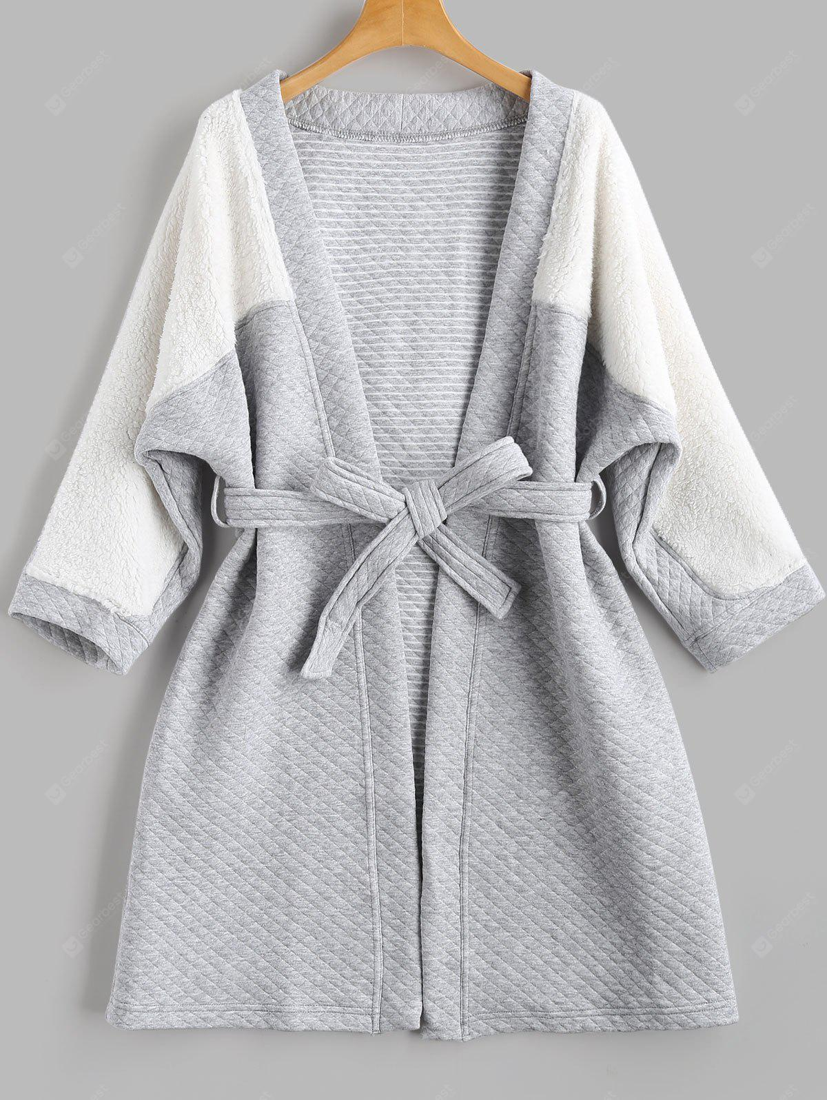 Textured Flannel Two Tone Loungewear