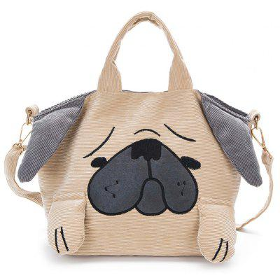 Animal Shape Color Block Crossbody Bag