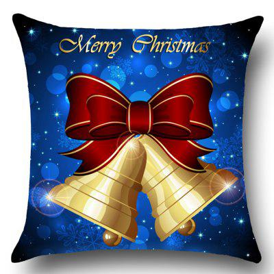 Christmas Bells Printed Home Decor Throw Pillow CasePillow<br>Christmas Bells Printed Home Decor Throw Pillow Case<br><br>Fabric Type: Linen<br>Material: Linen<br>Package Contents: 1 x Pillow Case<br>Pattern: Printed,Snowflake<br>Shape: Square<br>Style: Festival<br>Weight: 0.0800kg