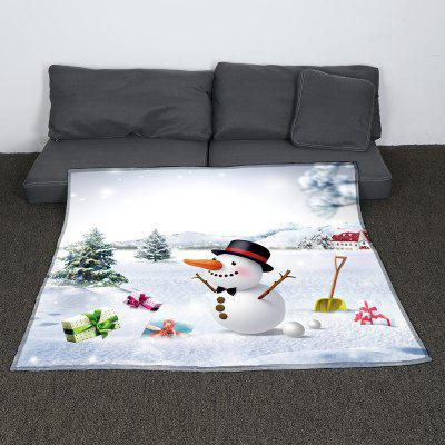 Christmas Snowman Gifts Printed Throw BlanketBlanksts&amp; Throws<br>Christmas Snowman Gifts Printed Throw Blanket<br><br>Material: Flannel<br>Package Contents: 1 x Blanket<br>Type: Flannel<br>Weight: 0.9000kg