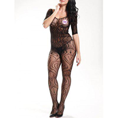 Fishnet Bodystockings with Sleeves