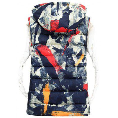 Zip Up Hooded Camo Quilted VestWaistcoats<br>Zip Up Hooded Camo Quilted Vest<br><br>Closure Type: Zipper<br>Collar: Hooded<br>Material: Polyester<br>Package Contents: 1 x Vest<br>Shirt Length: Regular<br>Style: Casual<br>Thickness: Thick<br>Weight: 0.6500kg