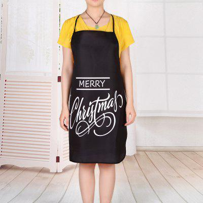 Merry Christmas Letters Print Waterproof Cooking ApronCookware<br>Merry Christmas Letters Print Waterproof Cooking Apron<br><br>Material: Polyester<br>Package Contents: 1 x Apron<br>Pattern Type: Letter<br>Type: Apron<br>Weight: 0.0800kg
