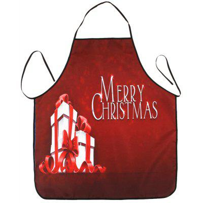 Christmas Gifts Print Waterproof Cooking Apron
