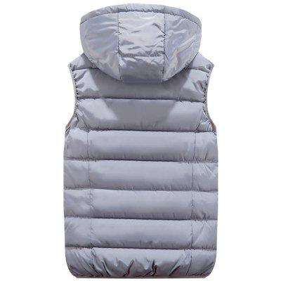 Zip Pocket Detachable Hood Quilted VestWaistcoats<br>Zip Pocket Detachable Hood Quilted Vest<br><br>Closure Type: Zipper<br>Collar: Hooded<br>Material: Polyester<br>Package Contents: 1 x Vest<br>Shirt Length: Regular<br>Style: Casual<br>Thickness: Thick<br>Weight: 0.6500kg
