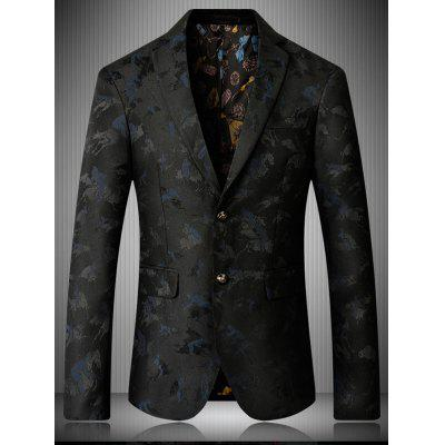 Lapel Single Breasted Riding Jacquard BlazerMens Blazers<br>Lapel Single Breasted Riding Jacquard Blazer<br><br>Closure Type: Single Breasted<br>Material: Cotton, Polyester<br>Package Contents: 1 x Blazer<br>Shirt Length: Regular<br>Sleeve Length: Long Sleeves<br>Weight: 0.7500kg
