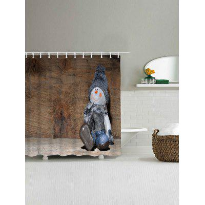 Christmas Snowman Wood Grain Waterproof Bath CurtainShower Curtain<br>Christmas Snowman Wood Grain Waterproof Bath Curtain<br><br>Materials: Polyester<br>Number of Hook Holes: W59 inch*L71 inch: 10; W71 inch*L71 inch: 12<br>Package Contents: 1 x Shower Curtain 1 x Hooks (Set)<br>Pattern: Snowman,Wood Grain<br>Products Type: Shower Curtains<br>Style: Festival